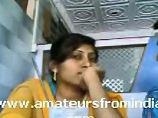 Horny Indian Couple Make Out In Public