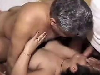 Bbw Indian MILF Has An Intense Orgy With Her Neighbors