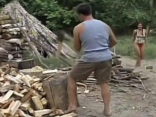 Hung Stud Splits Wood And Teen's Pussy Upornia Com