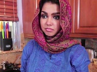 Brunette Muslim Teen Ada Fills Her Pussy With Warm Jizz Porn Videos