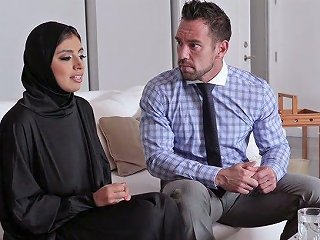 Big Breasted Hijab Ella Knox Gets Nailed Missionary Style Hard Enough