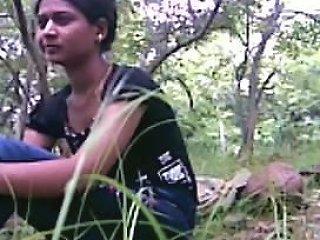 Slender Cute College Immature Jungle Sex In Picnic